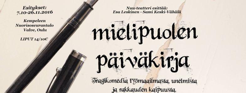 Nuu-teatteri esittää: Mielipuolen päiväkirja